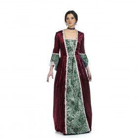 Middeleeuwse Koningin Eleonora Van Engeland Vrouw Kostuum