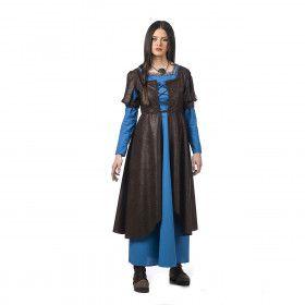 Waardin Kroeg Het Hijgend Hert Middeleeuwen Vrouw Kostuum