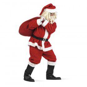 Pluche Kerstman Grootvadertje Vorst Kostuum