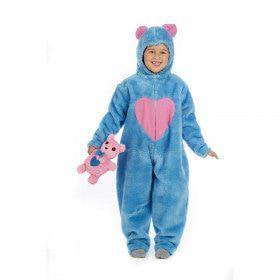 Lieve Blauwe Troetelbeer Kind Kostuum