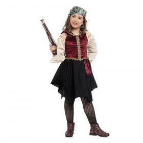 Golf Van Biskaje Piraat Pam Meisje Kostuum