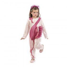 Fraai E Elegante Roze Flamingo Meisje Kostuum