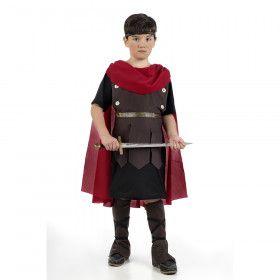Romeinse Tribuun Eerste Legioen Jongen Kostuum