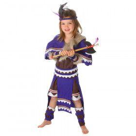 Vlijmscherpe Tomahawk Indiaan Arizona Meisje Kostuum