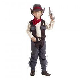 Wilde Westen Pistolen Duel Cowboy Billy Jongen Kostuum