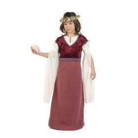 Roze Hofdame Henriette Meisje Kostuum