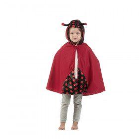 Cape Rode Stippels Lieveheersbeestje Kind Kostuum