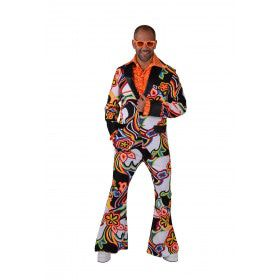 Funky Fantasie Soul Jaren 70 Man Kostuum