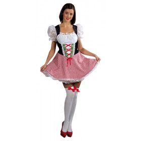 Hoogste Alp Dirndl Bierfeest Vrouw Kostuum