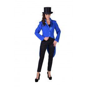 Cabaret Slipjas Circus Artiest Blauw Vrouw