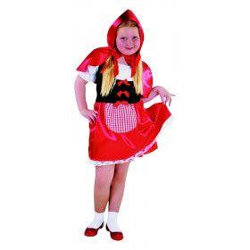 Grootmoeders Kleine Schat Roodkapje Meisje Kostuum
