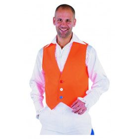 Hup Holland Oranje Vest Man