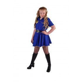 Volg De Wet Politie Agente Meisje Kostuum