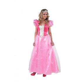 Suikerspin Roze Sprookjes Prinses Vrouw Kostuum