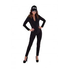Veelzijdig Catsuit Zwart Vrouw Kostuum