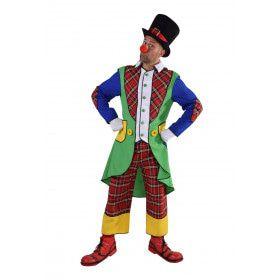 Pipo De Clown Circus Artiest Man Kostuum