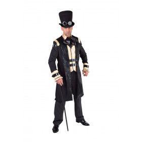Zakenman Bankier Amsterdam 19e Eeuw Kostuum