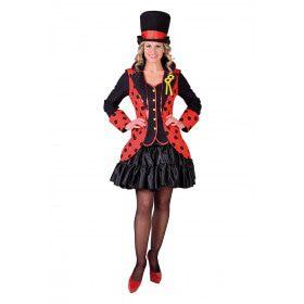 Lieveheersbeestje Rood Zwarte Kever Slipjas Vrouw