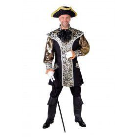 Opvallende Markies Son Et Lumiere Man Kostuum