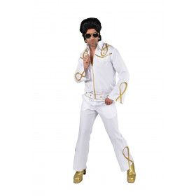 Gouden Generatie Rock And Roll Elvis Man Kostuum