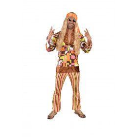 Wilde Combi High Hippie Man Kostuum