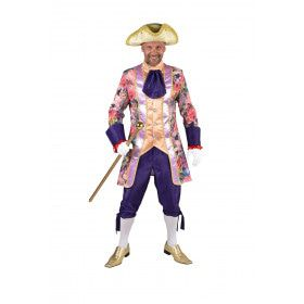 Markies Des Fleurs Rozen Man Kostuum