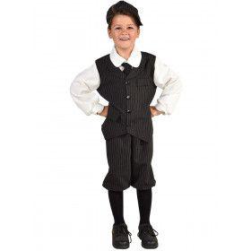 Engels Straatschoffie Jaren 20 Jongen Kostuum