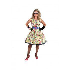 Fleurige Bloesem Jaren 50 Zomer Vrouw Kostuum