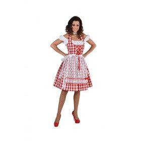 Bertha Bierstube Oktoberfest Vrouw Kostuum