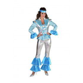 Does Your Mother Know Dancing Queen Abba Vrouw Kostuum