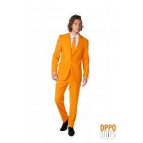 The Orange Opposuit Oranje Goes Koningsdag Opposuit Kostuum Man
