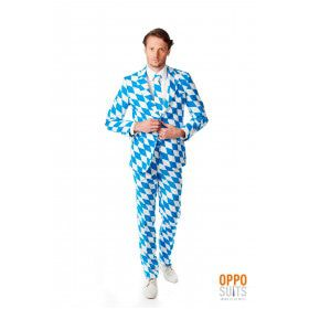 The Bavarian Harlequino Opposuit Kostuum Man