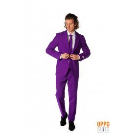Paars Purple Prince Opposuit Kostuum Man
