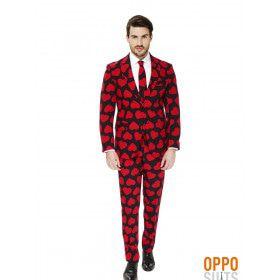 Hartenbreker King Of Hearts Opposuit Man Kostuum