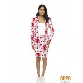 Hotlips Bloody Mary Opposuit Vrouw Kostuum