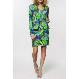Juicy Jungle Tropische Varens Vrouw Kostuum