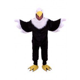 Amerikaanse Adelaar Overall Pluche Kostuum