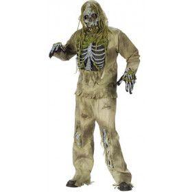 Schoon Gegeten Door De Wormen Zombie Skelet Kostuum