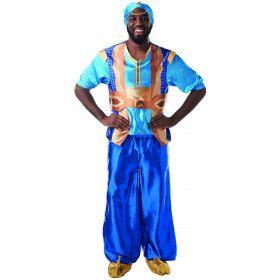 Aladdin Geest In De Fles Genie Man Kostuum