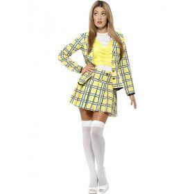 Clueless Cher Schooluniform Vrouw Kostuum