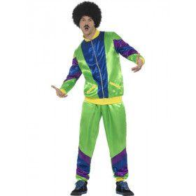 Foeilelijk Jaren 80 Trainingspak Man Kostuum