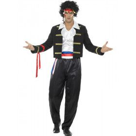 New Wave Popster Adam Man Kostuum