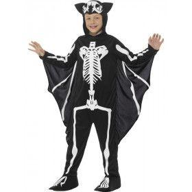Vleermuis Vliegend Skelet Jongen Kostuum