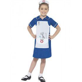 Klaar Voor De Operatie Zuster Meisje Kostuum