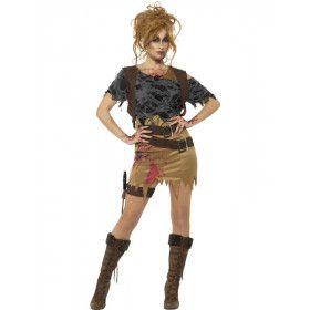 Zombie Jager Veluwe Vrouw Kostuum