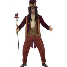 Onheilspellende Voodoo Medicijnman Kostuum