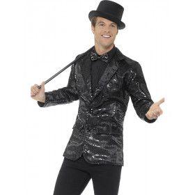 Ron Tv Presentator Pailletten Vest Man