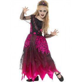Griezelige Prom Queen Meisje Kostuum