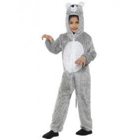 Machtige Grijze Muis Kind Kostuum