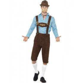 Johann Sebastian Bier Man Kostuum